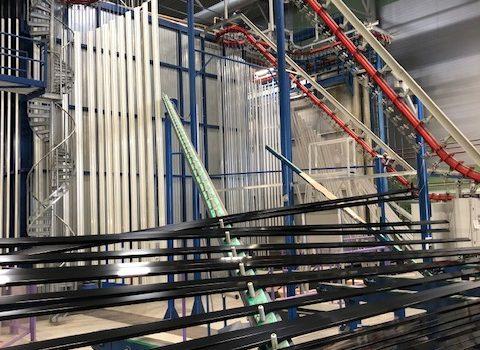 Mäkelä Alu investerar i ny kapacitet med senaste teknologi för pulverlackering
