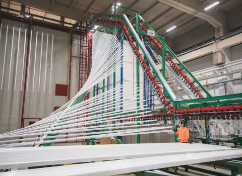 Pulverlackeringslinjen i Voikkaa har fått GSB-mastercertifikat
