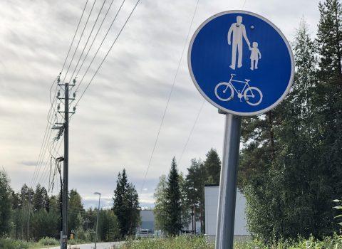 Vi har genomfört ändringar i trafiken på fabriken i Luoma-aho, Finland