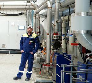 Våra kunder förväntar sig energieffektivitet av oss